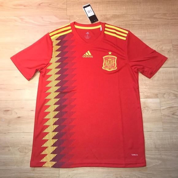 adidas Spain Home Jersey 2018 9c92f5baa